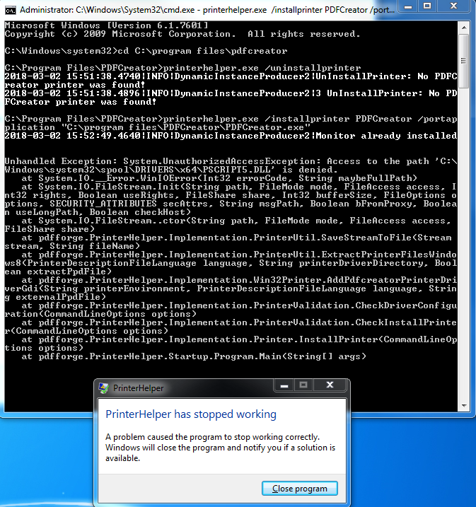 how to get forge to work on windows 8
